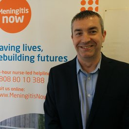 Meningitis Now trustee Craig Jones