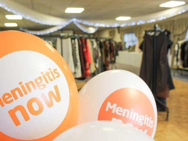 Meningitis Now balloons