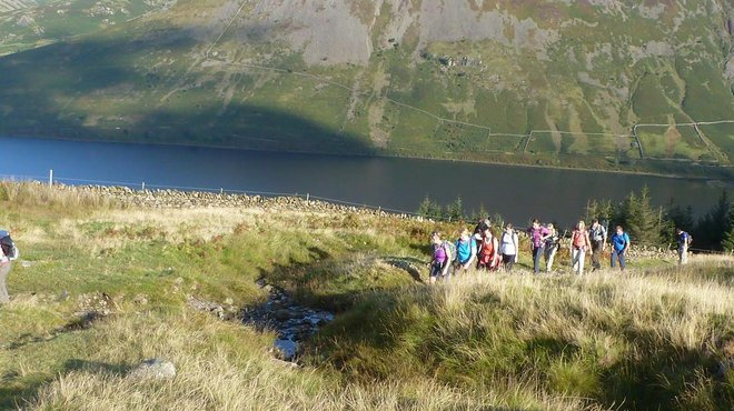 Meningitis Now fundraising event - Trek the Lake District