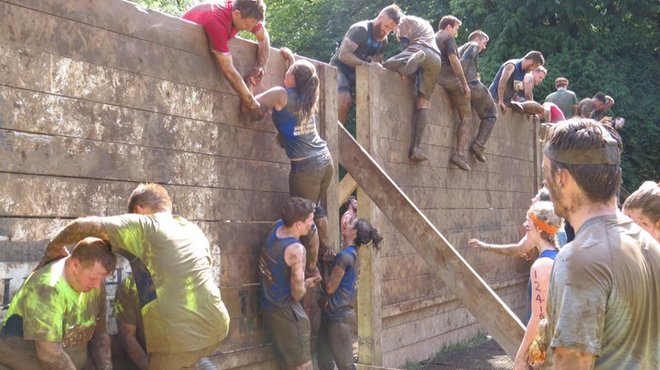 Meningitis Now fundraising event - Tough Mudder