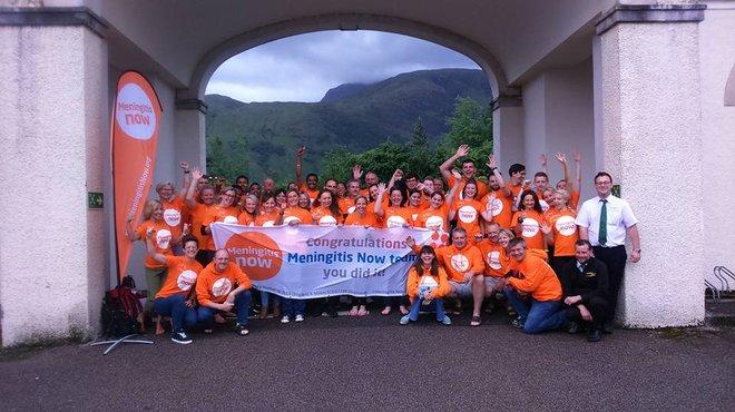 Meningitis Now fundraising event - Three Peaks Challenge