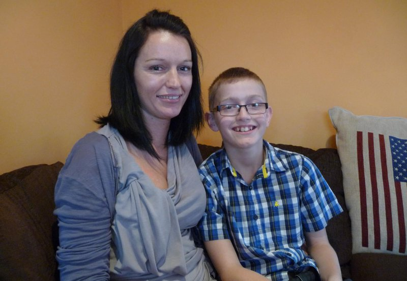 Brogan Twitch gaming fundraiser for Meningitis Now - 2011 meningitis interview for BBC with Mother