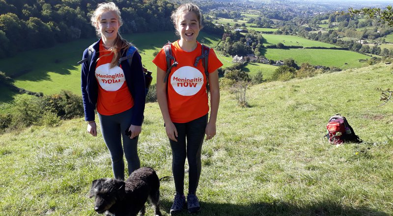 Stepping out on Meningitis Now's Fabulous Virtual Walk