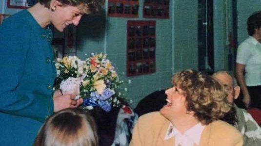 When a meningitis survivor met Princess Diana