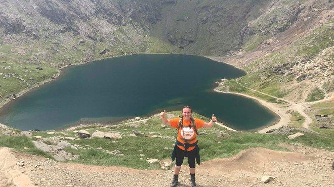 Meningitis Now fundraising event Three Peaks Challenge