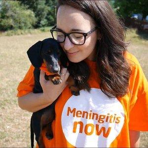 Meningitis Now staff member Sophia Lanciano Newman
