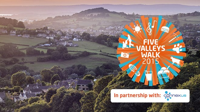 Meningitis Now fundraising event - Five Valleys Walk