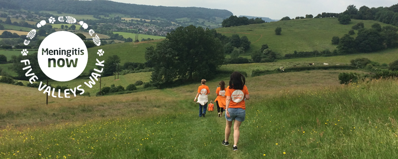 Meningitis Now fundraising event Five Valleys Walk LB - no date