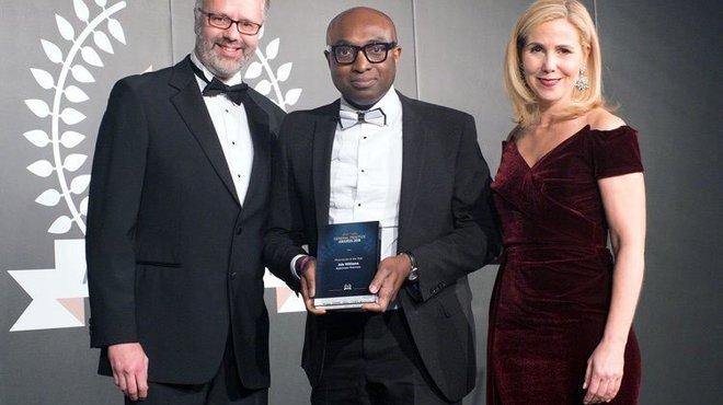 Top award for meningitis pharmacy champion