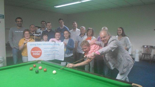 Snooker fundraiser