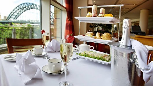 Afternoon champagne tea