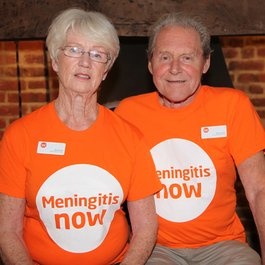 Meningitis Now Community Ambassadors Alice and Bryan Austin