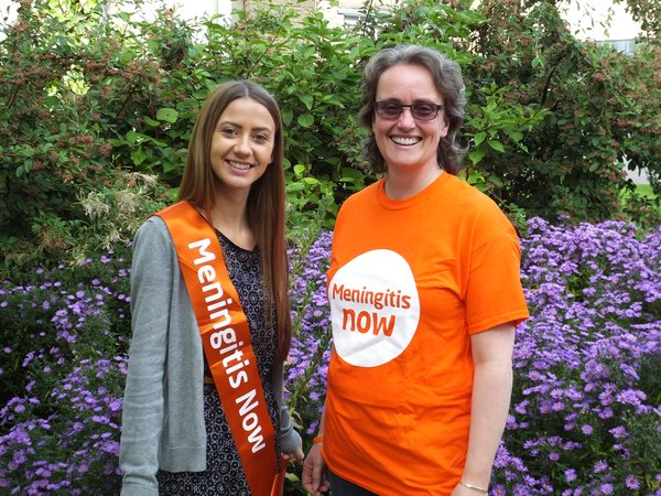 Meningitis Now Community Ambassador Alison Walker