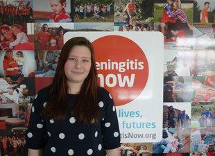 Meningitis Now Young Ambassador Amber Elliot