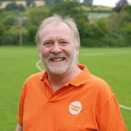 Meningitis Now staff member Andy Hopkinson