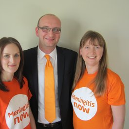 Meningitis Now Community Ambassador Angela Cloke