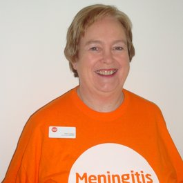 Meningitis Now Community Ambassador Anne Cadden