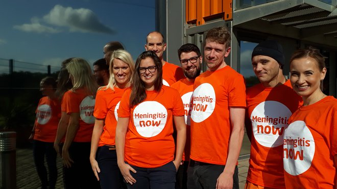 Meningitis Now corporate partners B&A run sponsored Bristol Half Marathon