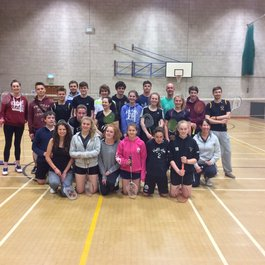 Badminton fundraiser for Meningitis Now