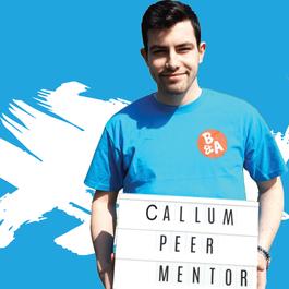 Meningitis Now Believe & Achieve B&A - Peer Mentor - Callum Jones