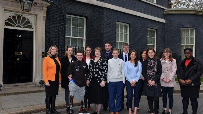 Meningitis Now at Downing Street