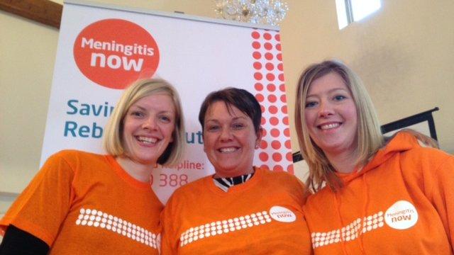Meningitis Now Community support