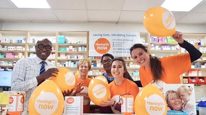 Bedminster Pharmacy fundraising for World Meningitis Day