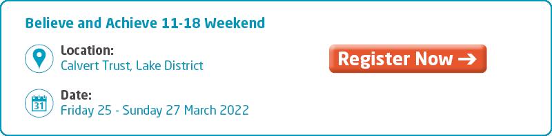 Believe and Achieve 11-18 Weekend Key Info 2021
