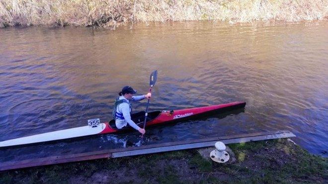Bethan Davies kayak race fundraiser blog