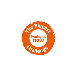 Meningitis Now fundraising - Biggest Challenge - video board - front