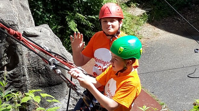 Meningitis Now Believe & Achieve Calvert Trust residential weekend