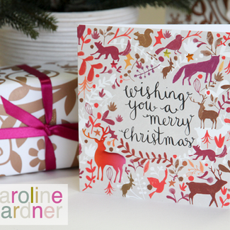 Caroline Gardner Christmas Cards for Meningitis Now
