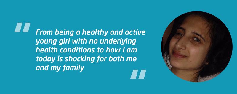 Ayesha's bacterial meningitis story