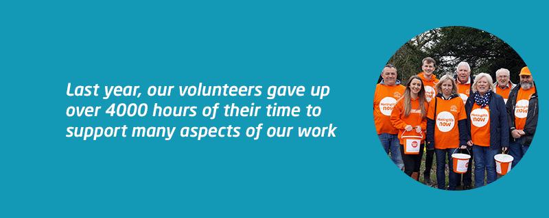 Thanking Meningitis Now volunteers this 2020 volunteers week