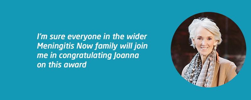 Celebrity Patron Joanna Trollope awarded CBE