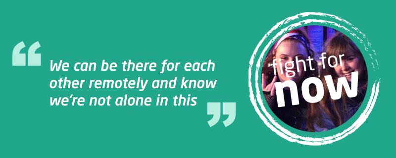 Fight for Now - Charlotte shares her life after meningitis under lockdown