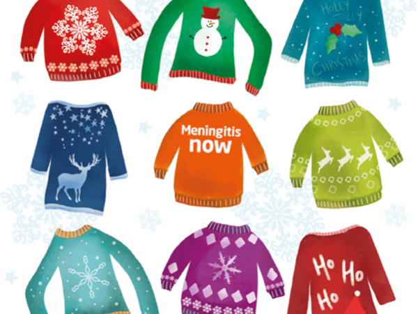 Meningitis Now Christmas cards 2018 link box