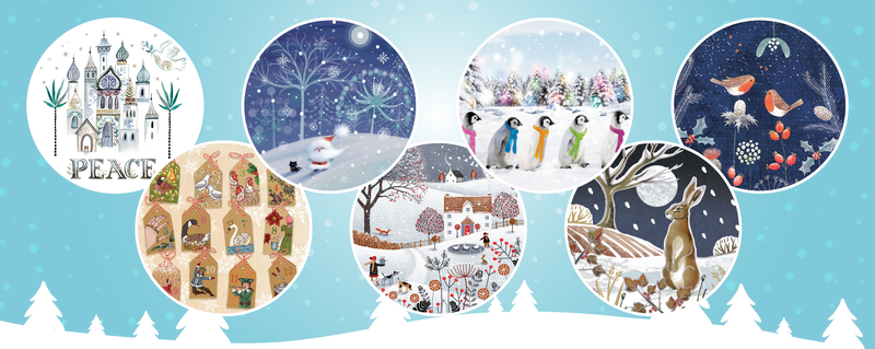 Meningitis Now fundraising Christmas Cards 2019 - LB