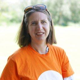 Meningitis Now staff member Clara Wiggins