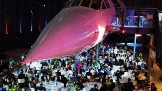 Fundraising dinner and dance under Concorde for Meningitis Now