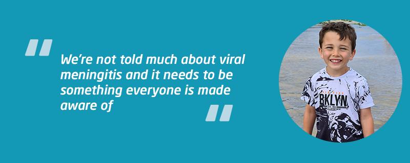 Connor W viral meningitis case study