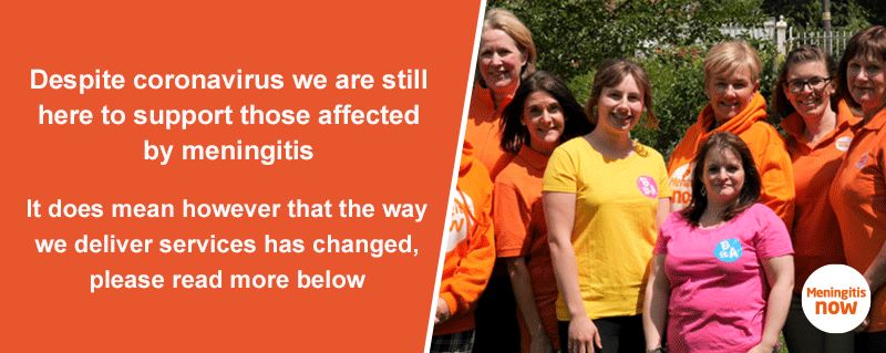 Access Meningitis Now's Support Services