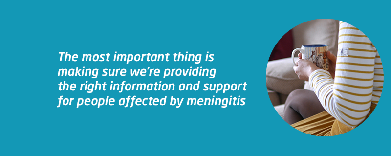 Coronavirus impact survey after meningitis