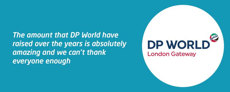 Corporate partner DP World London Gateway letterbox