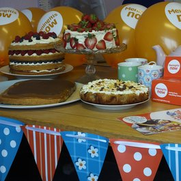 Meningitis Now fundraising event - Time4Tea