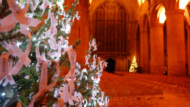 Meningitis Now Christmas carol concert - Ribbon Appeal