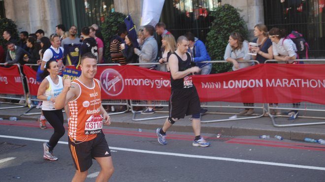 Meningitis Now fundraising event - London Marathon
