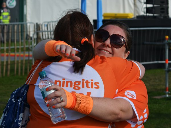 Meningitis Now fundraising event - Great North Run