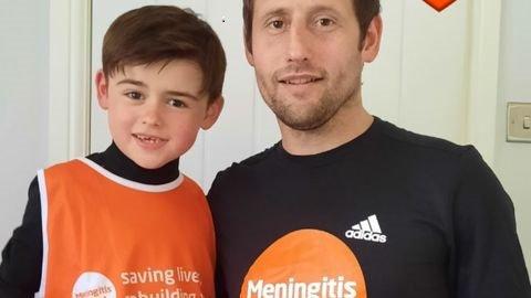 Damian's 4x4x48 challenge to beat meningitis