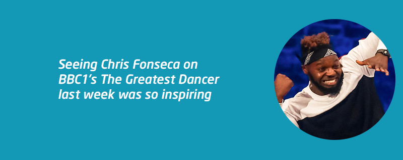 Deaf dancer Chris Fonseca blog